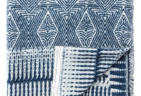 Global Throw Indigo