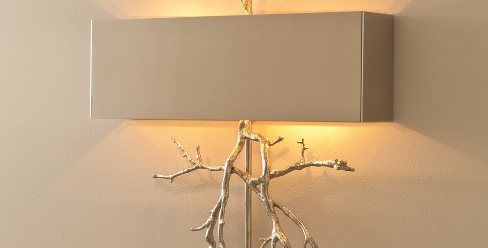 Twig Wall Sconce Nickel