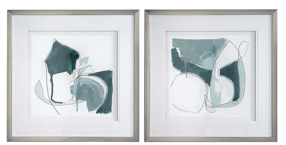 Wild Forms Framed Prints S/2