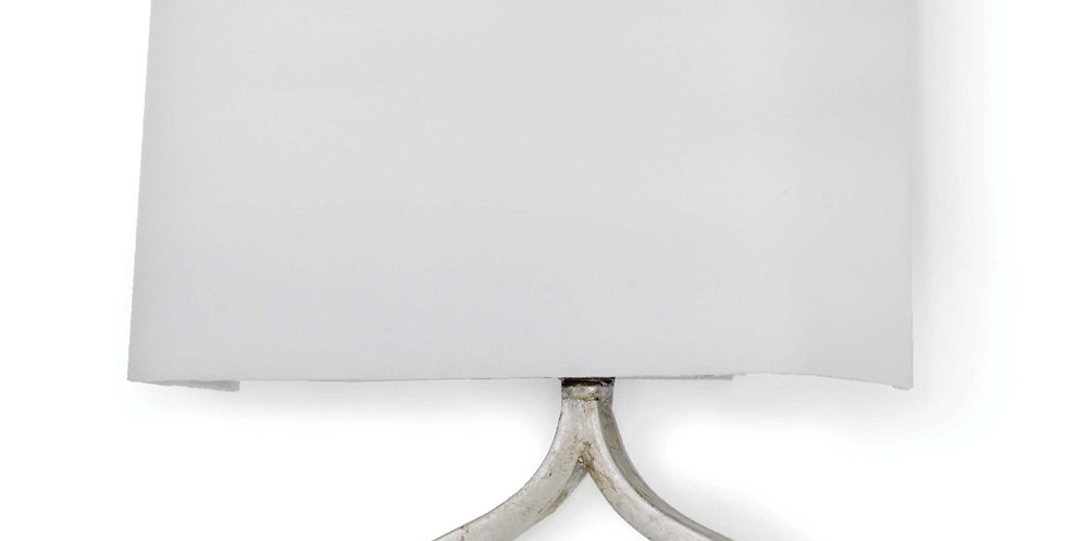 Silver Linked Sconce