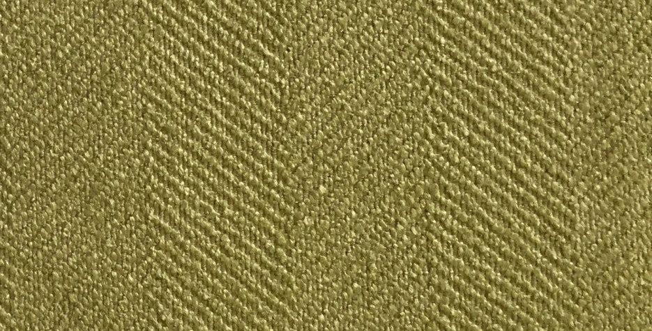 Green Herringbone Fabric