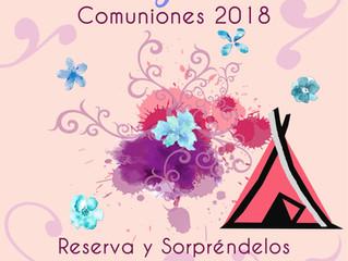 PREPARANDO TODO PARA LAS COMUNIONES 2018