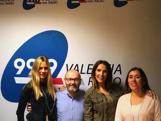 ¡Aún estamos emocionadas por la entrevista que nos han hecho en 99,9 Valencia Radio !