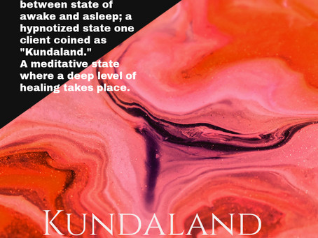 Come experience deep healing in Kundaland