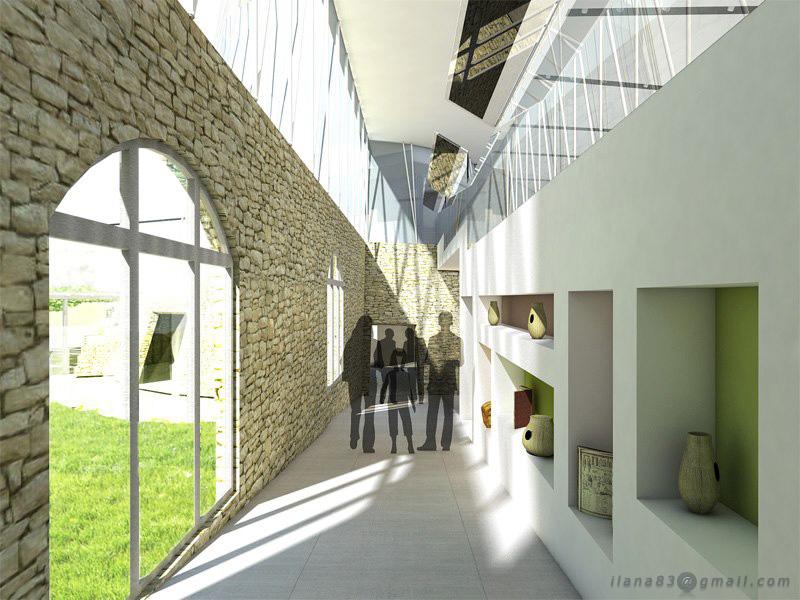 Visitor Centre Interior