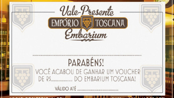 Vale Presente Empório Toscana a Partir de R$ 10,00