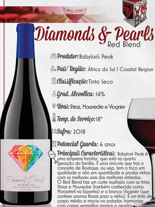 Diamonds & Pearls Red Blend