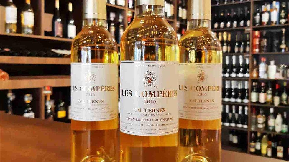 Château Les Compères Sauternes AOC 375ml - Entre os Melhores Vinhos de Sobremesa