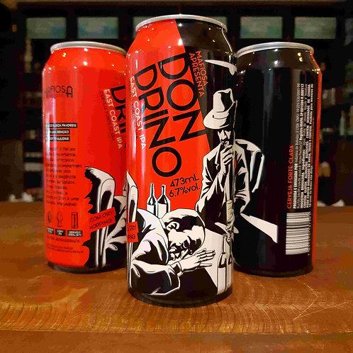 Cerveja Mafiosa Don Drino  East Coast IPA 473ml