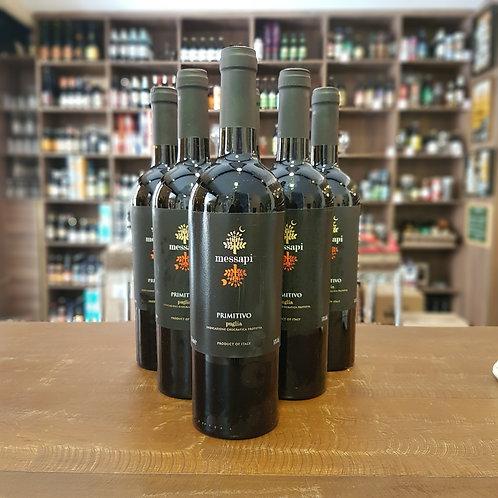 Vinho Italiano Primitivo Messapi 750ml