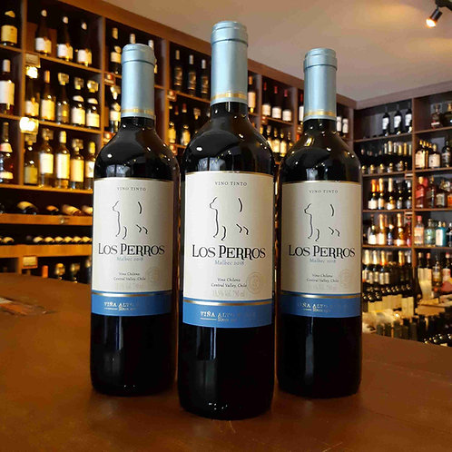 Vinho Tinto Chileno Los Perros Malbec 750ml
