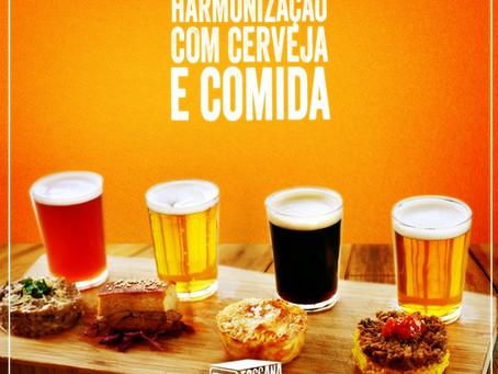 """""""Harmonização com cerveja e comida boa."""""""