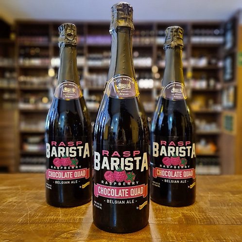 Cerveja Belga Kasteel Rasp Barista Chocolate Quad Fruit Beer 750ml
