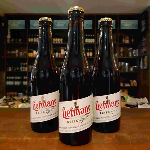 Cerveja Liefmans Kriek Fruit Beer com Cereja 330ml