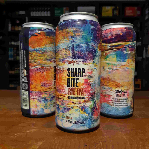Dádiva Sharp Bite Rye IPA -  New England IPA