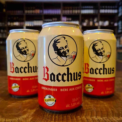 Cerveja Belga Bacchus Kriekenbieer Fruit Beer 350ml