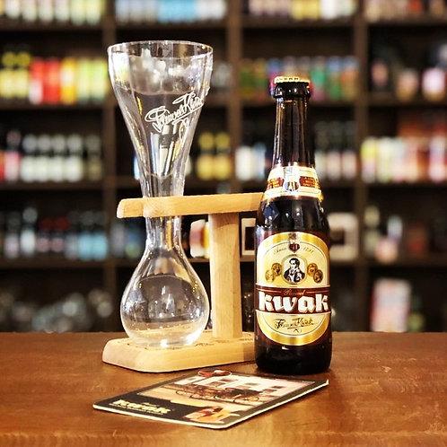 Cerveja Kwak + Copo Medieval