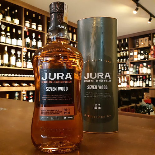Whisky Scotch Jura Seven Wood Single Malt 700ml