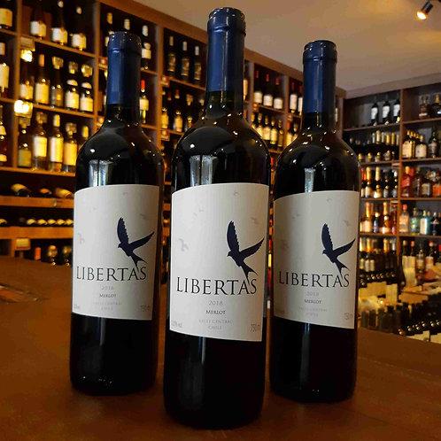 Vinho Tinto Chileno Libertas Merlot 750ml