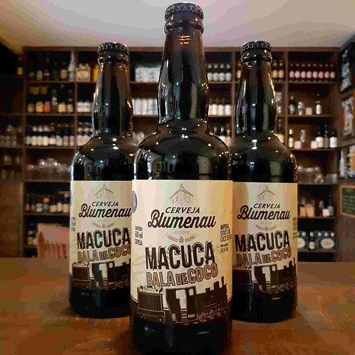 Cerveja Blumenau Macuca Imperial Stout com Bala de Coco 500ml