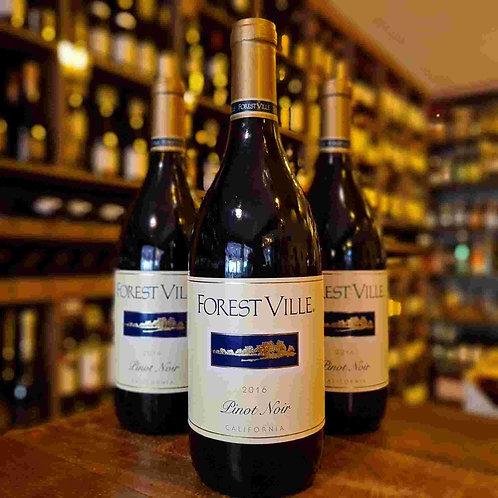 Vinho Californiano Forest Ville Pinot Noir 750ml