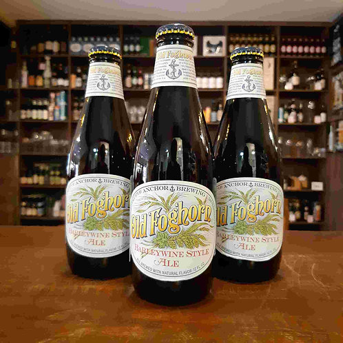 Cerveja Anchor Old Foghorn American Barley Wine (a 1º do estilo nos EUA!) 375ml
