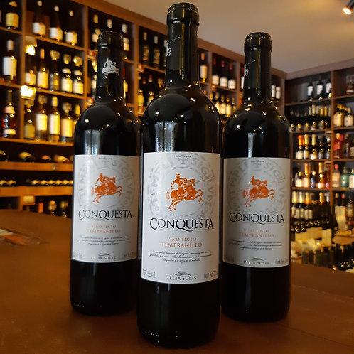 Vinho Tinto Espanhol Conquesta Tempranillo 750ml