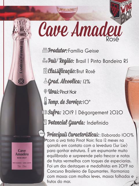 Cave Amadeu Brut Rose