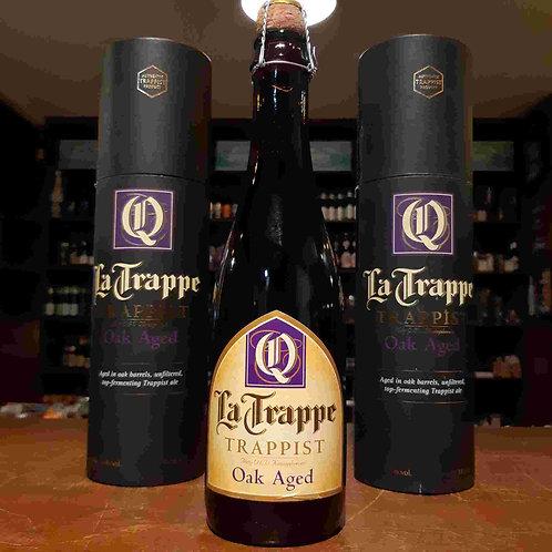 Cerveja TLa Trappe Oak Aged Batch 30 Envelhecida em Barris de Cachaça