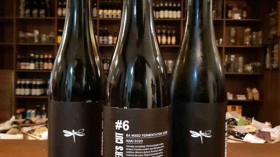 Cerveja Dádiva Série Brewer´s Cut #6 envelhecida 12meses em Barricas de Carvalho