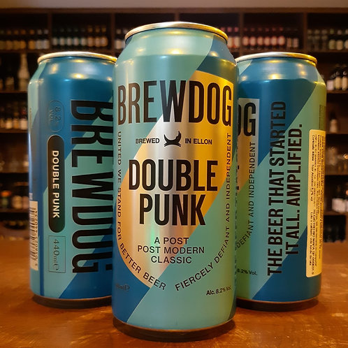 Cerveja Brew Dog Double Punk Lata 440ml - The Beer That Started it All Aplified!