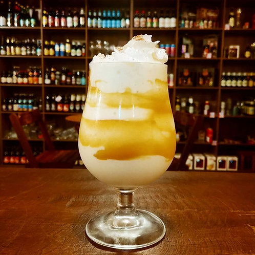 Sobremesa Vanilla Cream com Doce de Leite e Chantilly (Somente Consumo na Loja)