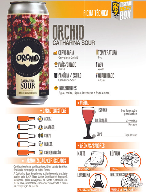 Orchid Catharina Sour