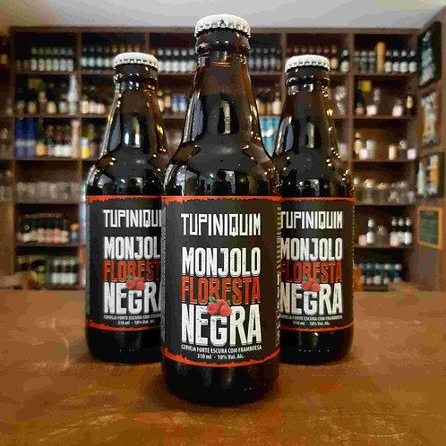 Cerveja Tupiniquim Monjolo Floresta Negra Imperial Porter com Framboesa 300ml