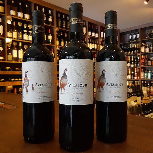 Vinho Tinto Chileno Aves del Sur Carmenere 750ml