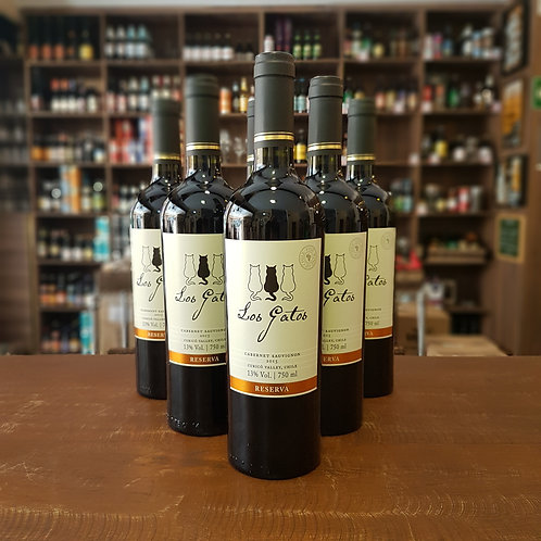 Vinho Chileno Los Gatos Reserva Cabernet Sauvignon 750ml