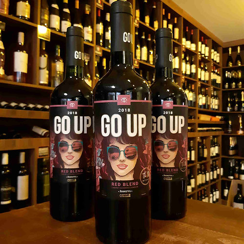 Vinho Tinto Chileno Go Up Red Blend Cabernet Sauvignon e Carmenere 750ml
