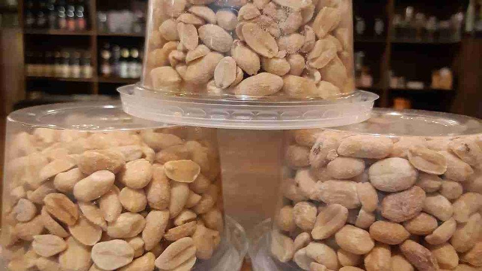 Amendoim Torrado Sem Pele - potinho entre 140g e 160g