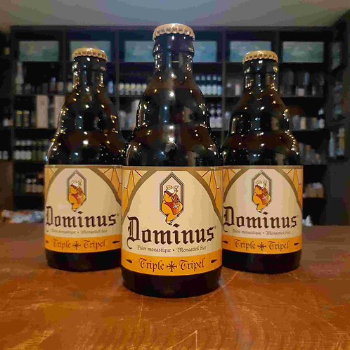 Cerveja Dominus Belgian Tripel 335ml