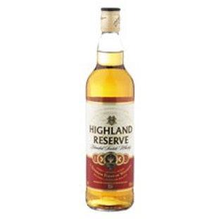 Highland Reserve Whisky 750ml