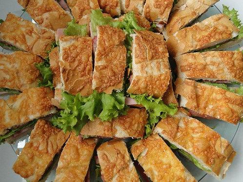 Pastrami com Queijo Gouda e Maionese Caramelizada (SOMENTE POR ENCOMENDA)