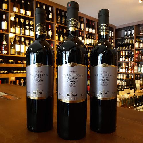 Vinho Tinto Italiano Primitivo Puglia Borgo Imperiale 750ml