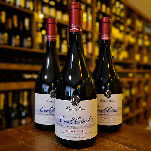 Vinho Tinto Chileno Casa Silva Cool Coast Pinot Noir 750ml