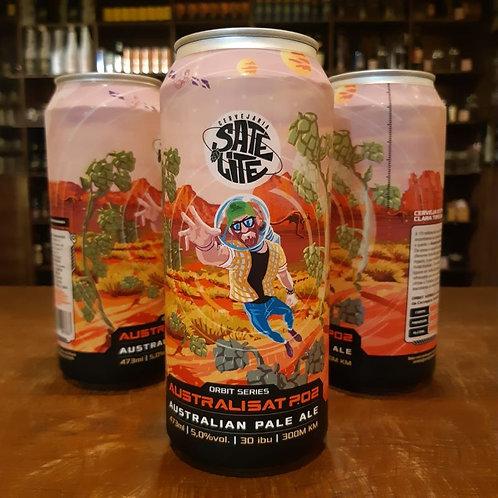 Cerveja Satélite Australisat 473ml Não Pasteurizada