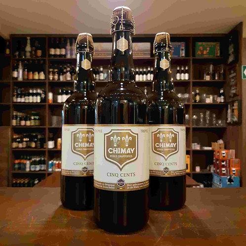 Cerveja Chimay White Tripel Belga Trapista 750ml