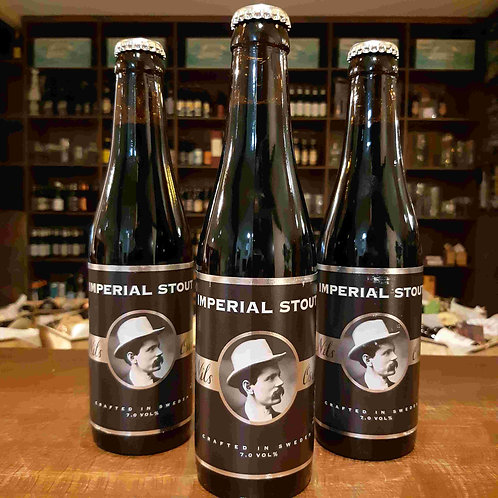 Cerveja Sueca Nils Oscar Imperial Stout 335ml