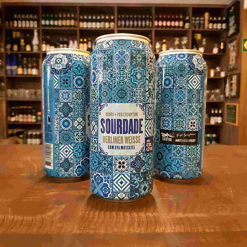 Cerveja Dádiva Sourdade Berliner Weisse com Uva Moscatel 473ml