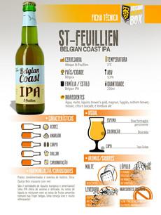St Feuillian Belgian Coast IPA