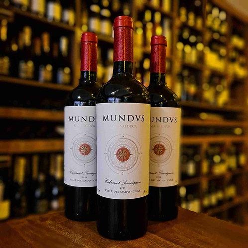 Vinho Tinto Chileno Mundus Cabernet Sauvignon Casa Valduga 750ml