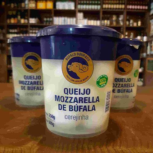 Queijo Mozzarella de Búfala Cerejinha 250g